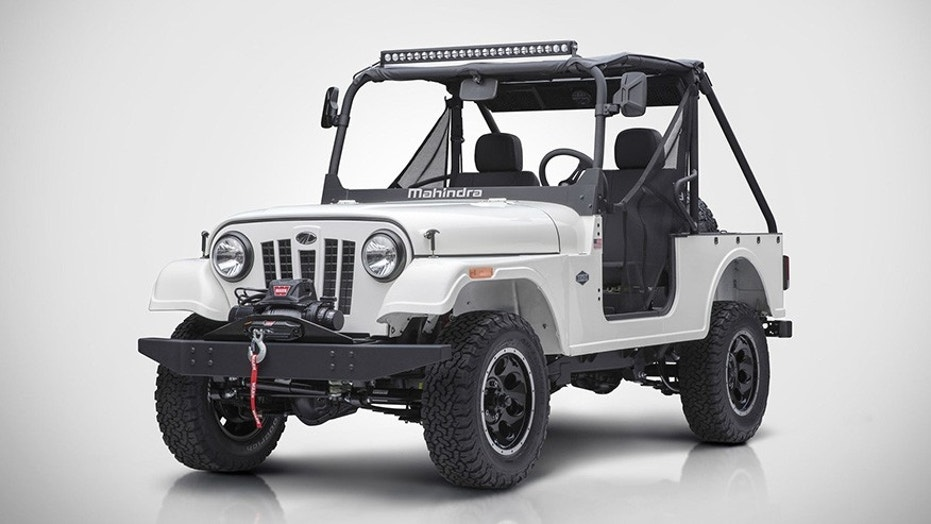 The Roxor is powered by a four-cylinder turbodiesel engine with 62 hp and and 144 lb-ft of torque that can tow up to 3,490 pounds, so it's a tough little mule that can be used for work or play.