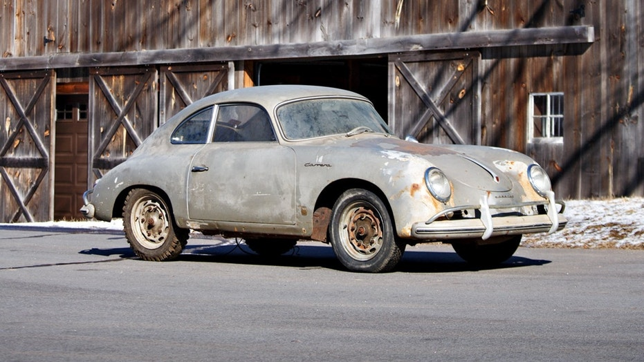 Rusty Porsche Barn Find Expected To Sell For 700000 Or More