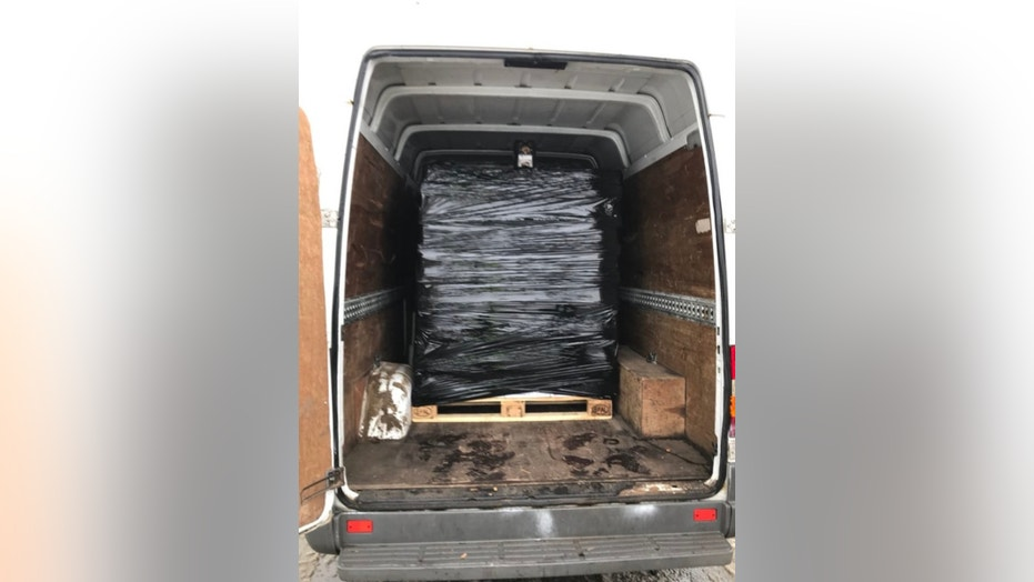 A van carrying 5,000 cans of beer was found to be 40 percent over the legal limit.