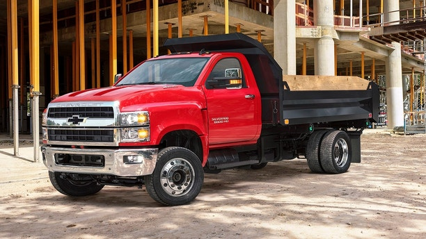 Chevrolet Unveils the 2019 Silverado 4500HD, 5500HD and 6500HD at NTEA The Work Truck Show