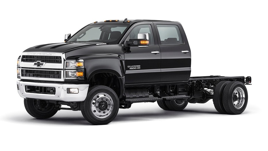 Chevy Silverado medium-duty commercial trucks revealed