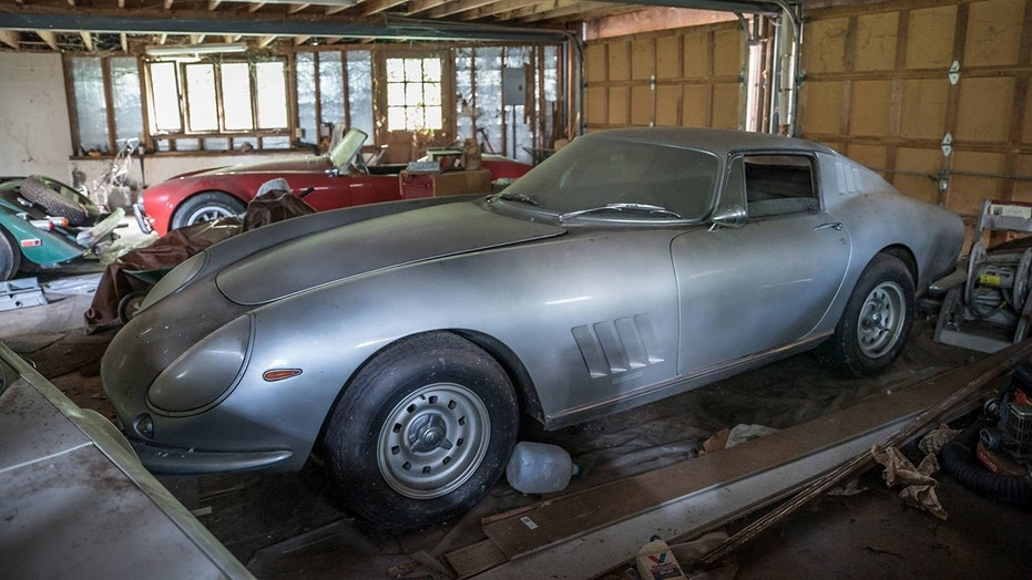 Garage find\' Shelby Cobra and Ferrari parked since 1991 sold for ...
