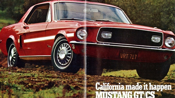 1968 Mustang GT/CS brochure cover