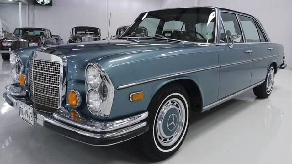 Elvis drove the Benz during his later years.