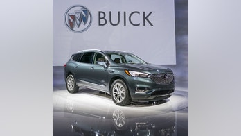 Buick debuts its new Avenir luxury sub-brand with the introduction of the 2018 Buick Enclave Avenir 7-passenger, SUV on Tuesday, April 11, 2017 on the eve of the New York International Auto Show in New York, New York. The Avenir offers unique styling cues, premium materials and an extensive set of standard features including:  Buick's-first Evonik Acrylite exterior lighting illuminates the road ahead with the power of more than 100 LEDs across the vehicle; a Rear Camera Mirror provides a clearer, broader view of what's behind; and in-vehicle ionization leaves the air cleaner and fresher. The 2018 Buick Enclave Avenir will be available in the fall. (Photo by Steve Fecht for Buick)