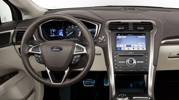 2017 Ford Fusion interior and seats