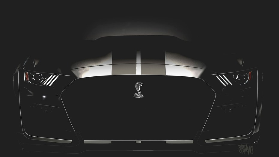 Best look yet at the 2019 Ford Mustang Shelby GT500