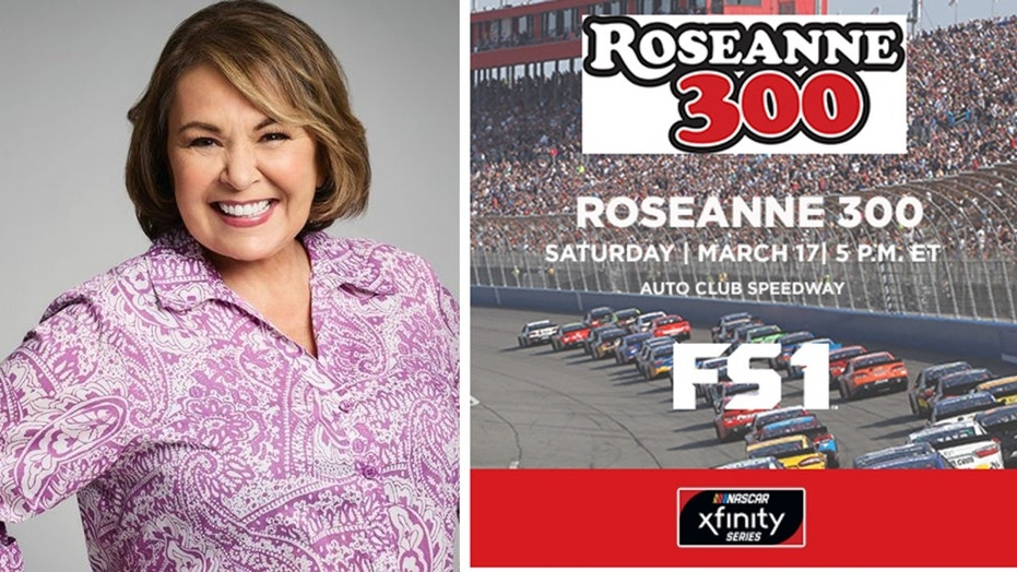 NASCAR race renamed Roseanne 300 to promote returning sitcom
