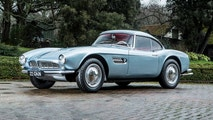 A classic BMW only owned by the motorsport hero John Surtees is set to sell for more than £2 MILLION at auction. See SWNS story SWSURTEES; The late icon snapped up the BMW 507 Roadster new in 1957 after winning the 500cc Motorcycle World Championship a year earlier. Surtees had fallen in love with the stunning German sports car at the Hockenheim race track and decided he had to own one. And he didn't have to pay full whack - with Count Agusta, the owner of the racing team Surtees rode for, paying half of the £3,000 price as a reward for his track heroics. The silver sports car was one of the most elegant motors of its time and is one of the most valuable BMWs on the planet. It is powered by 3.2-litre V8 engine which gives it a 0-60mph time of less than ten seconds and a top speed of around 130mph. John Surtees still owned the BMW when he passed away in 2017 at the age of 84. He remains the only person to win the world championship on two and four wheels.