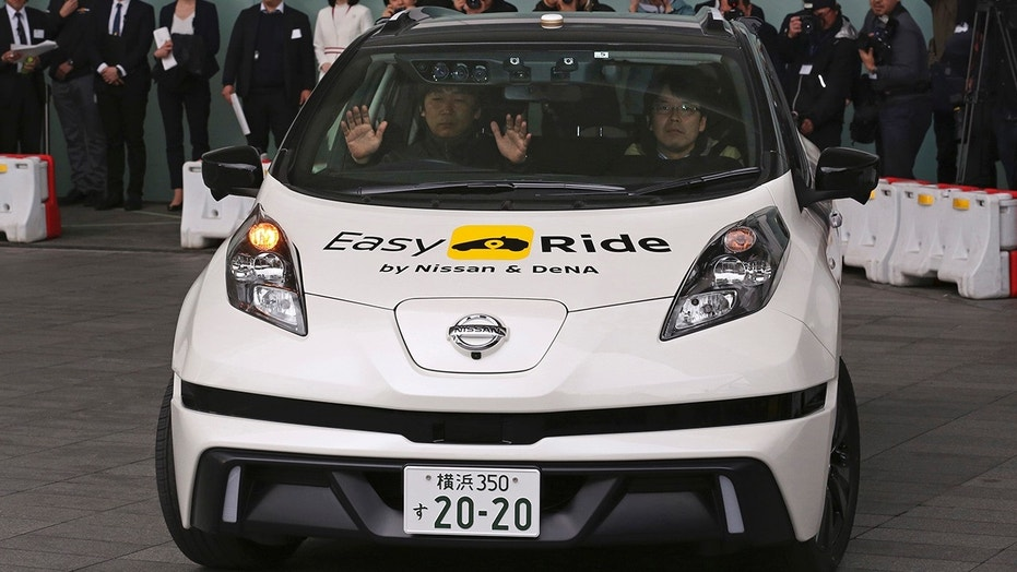 Nissan's Easy Ride robo-vehicle is being tested in Japan.