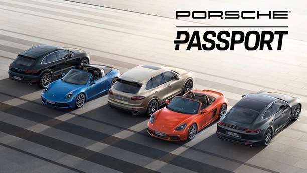 Porsche passport, press release