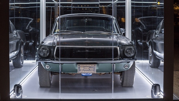 The Ford Mustang GT from the Warner Bros. movie