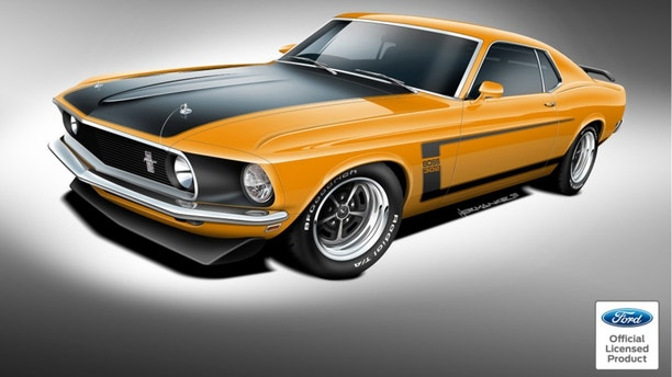 new 1969 70 ford mustang mach 1 boss 302 and boss 429 now on sale fox news. Black Bedroom Furniture Sets. Home Design Ideas