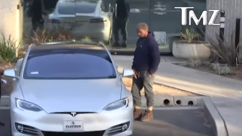 Advertise On My Car >> Kanye West says his new Tesla is the 'funnest car' | Fox News