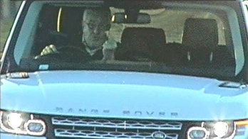 Timothy Hill, a company director has been caged for fitting a laser to his car and brazenly sticking his middle finger up as he passed speed cameras. See Ross Parry story RPYFINGER; Timothy Hill, 67, had fitted a jammer to his flashy white Range Rover with a private licence plate so he wouldn't be caught for speeding. Teeside Crown Court heard today (mon) was caught on camera flipping the bird to cameras on three separate occasions along the A19 in December last year. But when Hill found out he was being investigated he threw the jammer into a river and told officers it couldn't have been him because he was 60 miles away. However, after being interviewed he admitted he had a jammer and was the driver flashing the finger at the mobile speed vans.