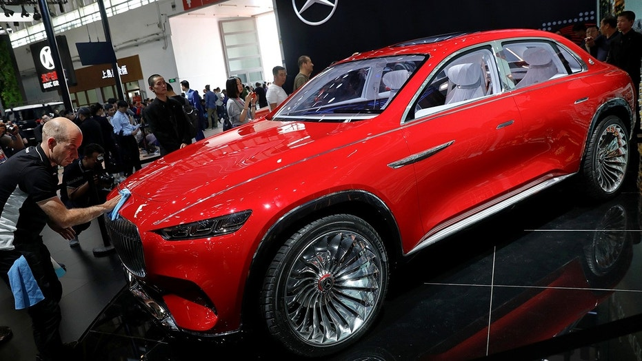 Mercedes Maybach Vision Ultimate Luxury concept uncovered
