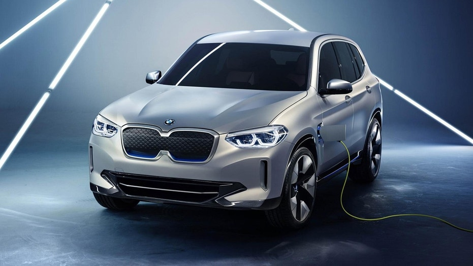 BMW iX3 concept unveiled at Beijing Motor Show