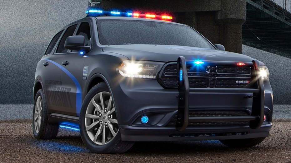 dodge durango pursuit police vehicle  ready  chase  bad guys fox news