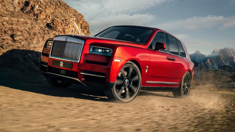 The Rolls-Royce Cullinan SUV is ridiculously large and luxurious