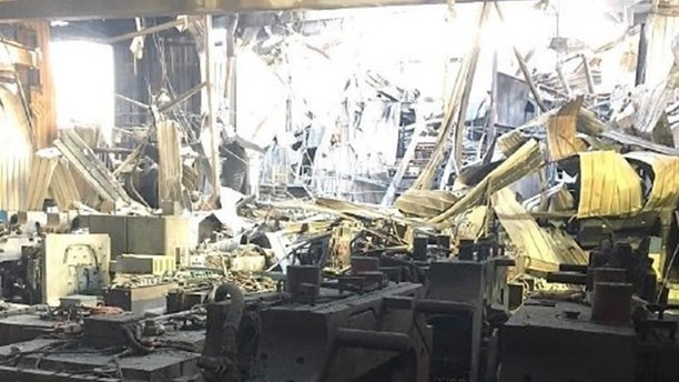 The Eaton Rapids facility was seriously damaged by the blaze