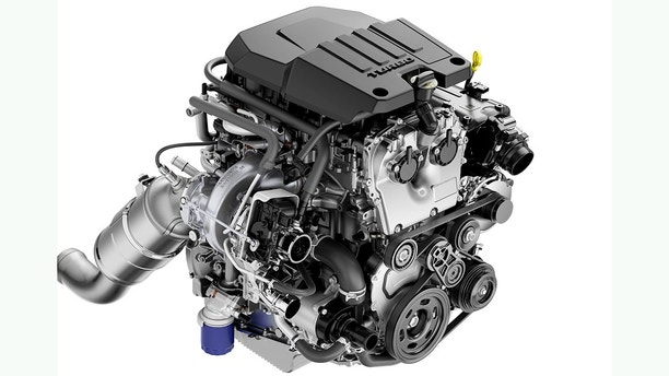 The Chevrolet Silverado is getting a tiny turbo engine ...