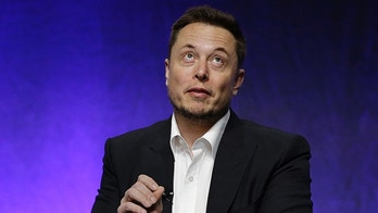 """Tesla and SpaceX CEO Elon Musk addresses the closing plenary session entitled """"Introducing the New Chairs Initiative - Ahead"""" on the third day of the National Governors Association's meeting Saturday, July 15, 2017, in Providence, R.I. (AP Photo/Stephan Savoia)"""
