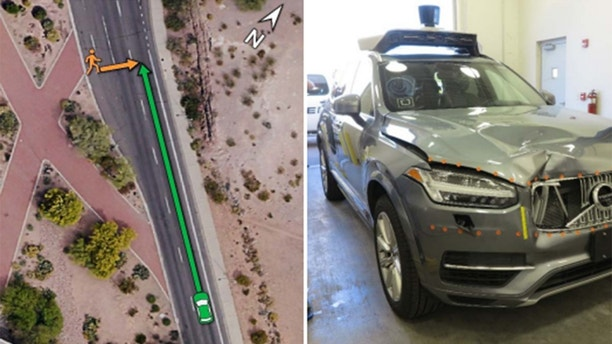 United States safety body outlines events of accident involving Uber autonomous test vehicle