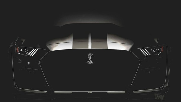 Front grille of the 2019 Shelby GT500