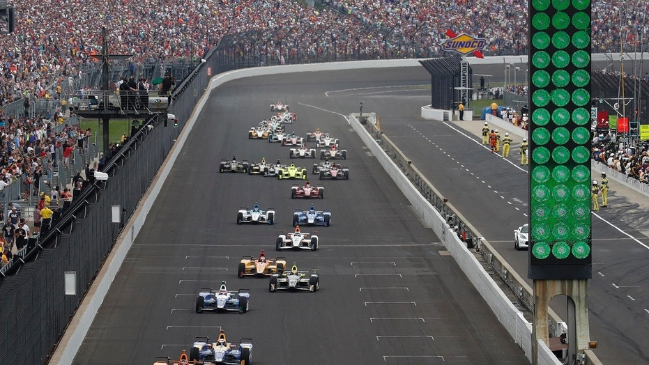The Indianapolis 500 was underway on May 27 at Indianapolis Motor Speedway in Indiana.