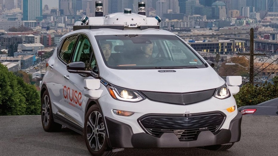 A GM Cruise prototype being tested in San Francisco. Production versions will have better-integrated sensors when they hit the road in 2019.