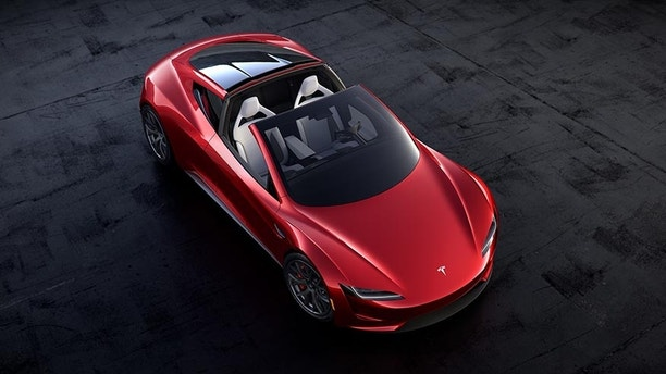 Tesla Touting 10 Rocket Thrusters for New Roadster
