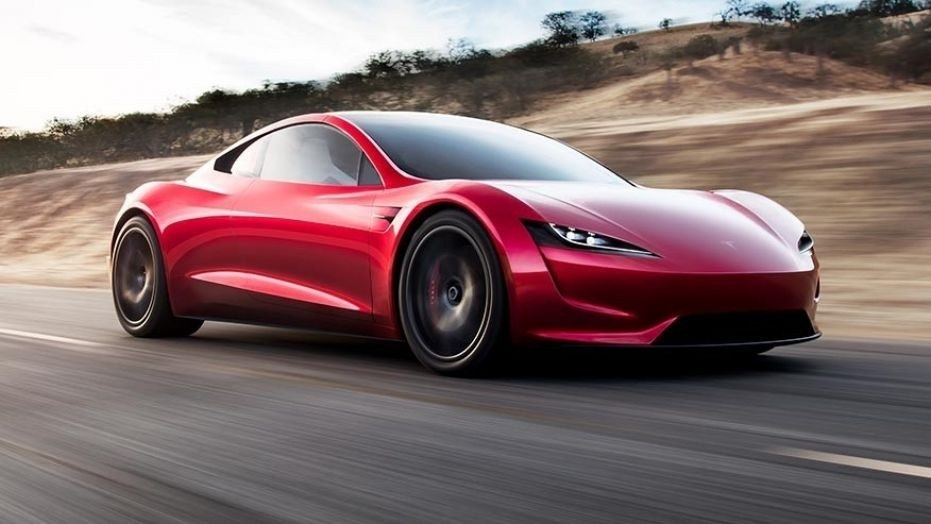 Teslas Newest Car Will Have Rocket Thrusters