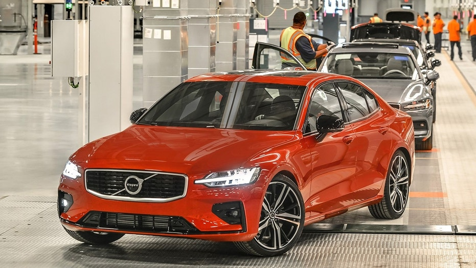 Volvo unveils its first American-made car at new South Carolina ...