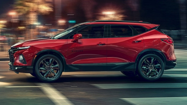 Chevy unveils new SUV: the Blazer