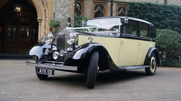 The Rolls Royce purchased as new by Alfred Shread,  and then used 84 years later by his great great niece to take her to her wedding. See MASONS story MNROLLS; A bride arrived at church in a vintage Rolls Royce that belonged to a long-lost relative - after discovering it while researching her family history.  Eliose Britcher, 31, stumbled upon a mention of the classic car while reading up on her great-great uncle Alfred Shread. The wealthy fruit and veg wholesaler had bought the car in 1934, before it passed into the hands of a former spitfire pilot. But it was when Eloise was searching for information about her ancestor that she found the motor for hire by a wedding car company.