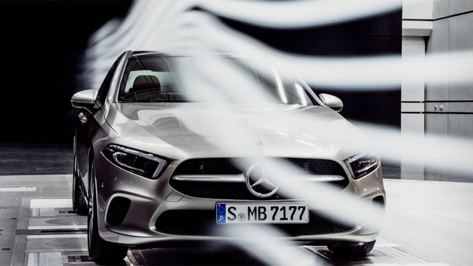 new mercedes benz a class sedan has lowest aerodynamic