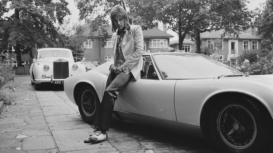 Stewart bought the car in 1971 at age 26.