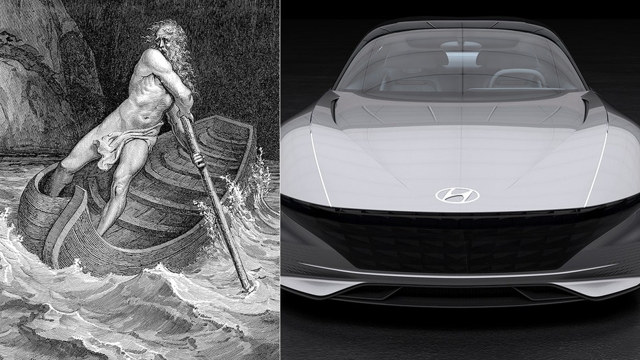 Charon may be interested in Hyundai's mysterious upcoming model, which could be a concept car like the Le Fil Rouge.