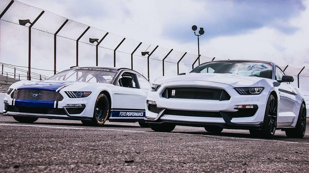 Ford to race iconic muscle vehicle  Mustang at NASCAR's top level