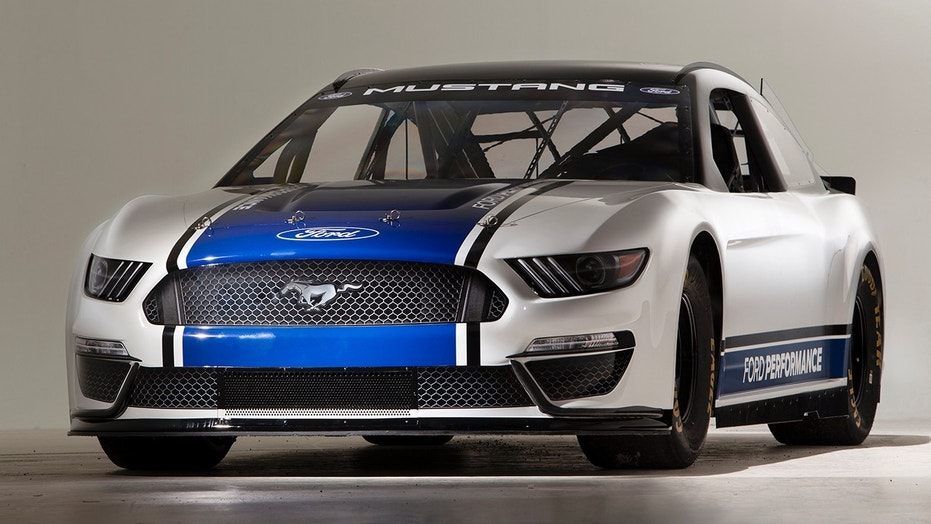 NASCAR Cup Ford Mustang ready to race