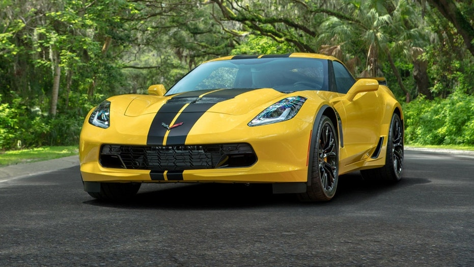 Hertz 100th Anniversary Edition Corvette Z06 (PRNewsfoto/The Hertz Corporation)