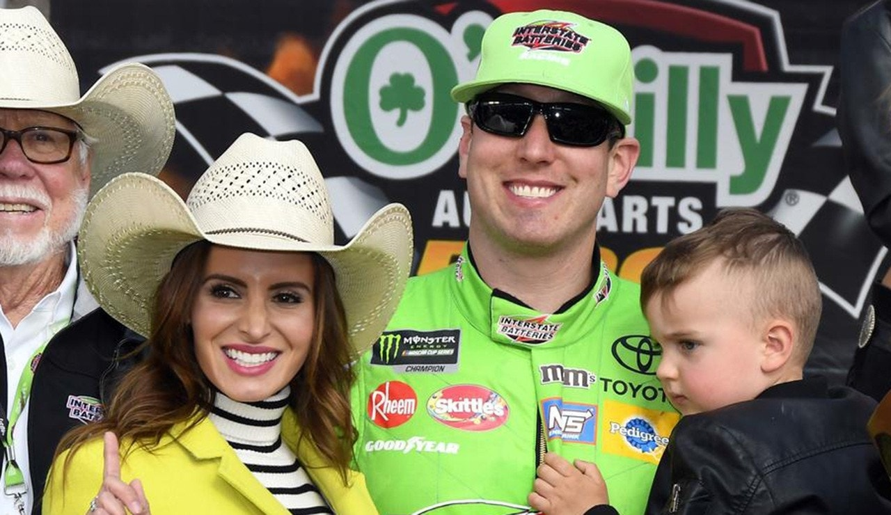 Kyle Busch Busted By His Wife On Twitter For Keeping Her