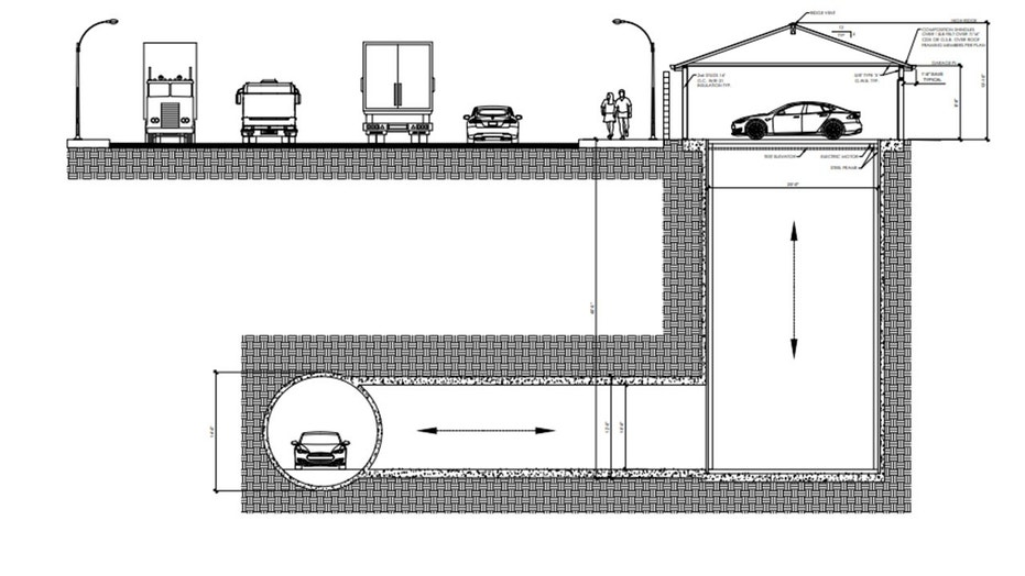 Musk's Boring Company gets approval for garage connected to underground tunnel