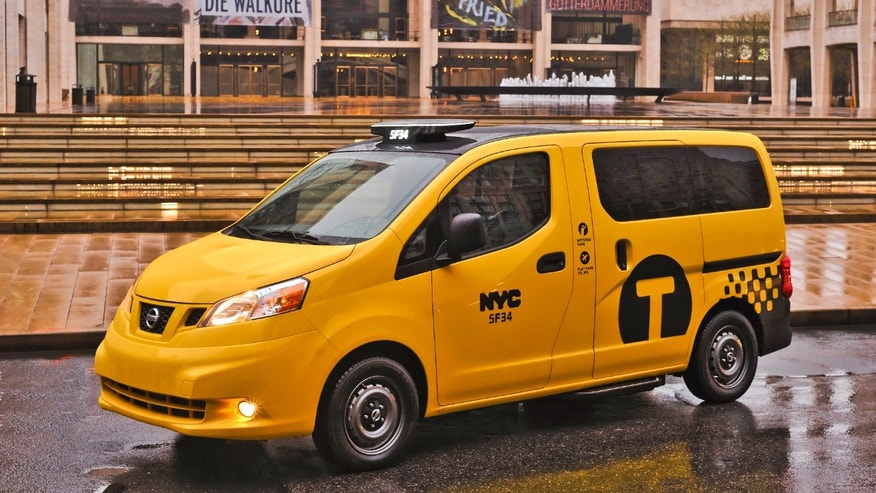 2014 Nissan NV200 Taxi - Lincoln Center