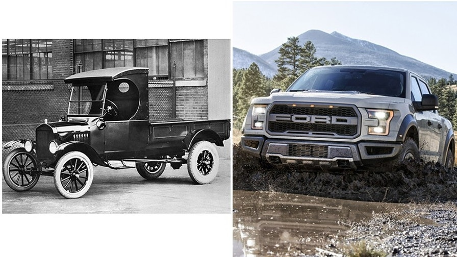 Ford pickup turns 100