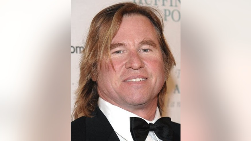 ** FILE ** In this Jan. 19, 2009 file photo, actor Val Kilmer attends the Huffington Post Pre-Inaugural Ball at the Newseum  in Washington. (AP Photo/Evan Agostini, file)