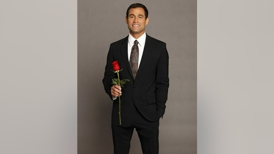 "In this image released by ABC, Jason Mesnick is shown in a promotional photo for the upcoming ABC series ""The Bachelor,"" premiering Monday, Jan. 5, 2009 at 8:00 p.m. EDT. Mesnick, a single dad, will star in his own bid for true love, choosing from among 25 bachelorettes.  (AP Photo/ABC, Craig Sjodin) ** NO SALES **"