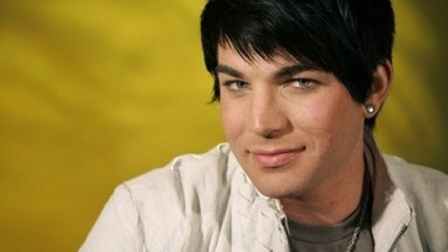 American Idol runner-up Adam Lambert poses for a portrait, Tuesday, May 26, 2009 in New York.  (AP Photo/Jeff Christensen)