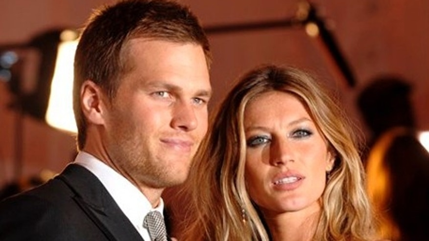FILE - In this May 4, 2009 file photo, Tom Brady and Gisele Bundchen arrive at the Metropolitan Museum of Art's Costume Institute Gala in New York. (AP Photo/Peter Kramer, file)
