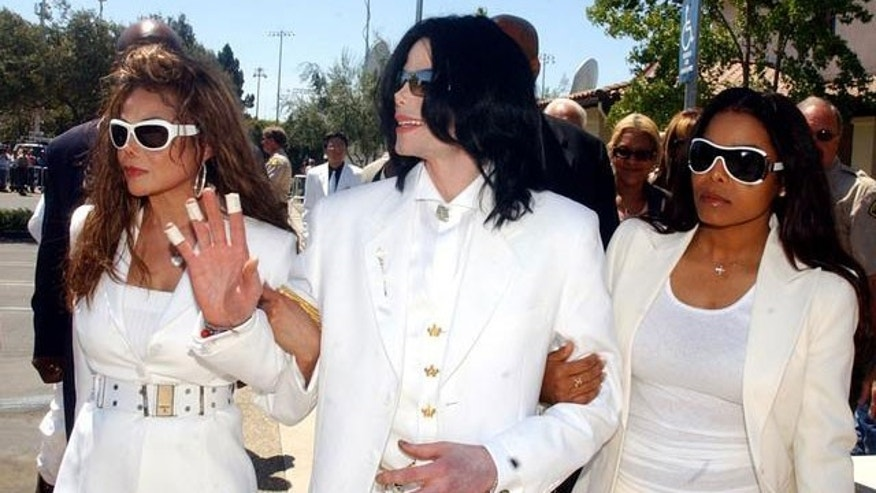 Latoya, Michael and Janet Jackson